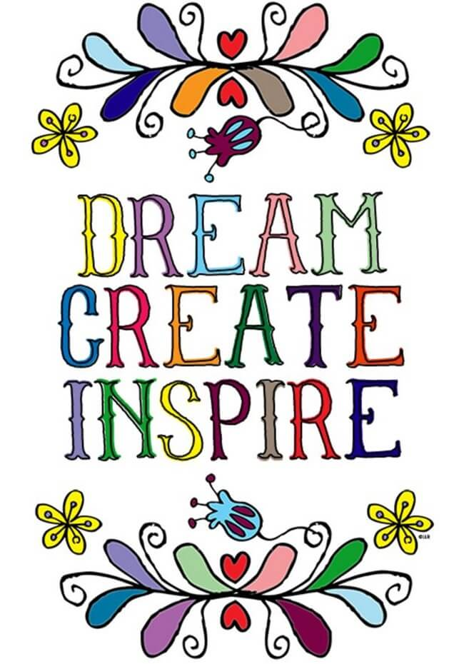 Free-Printable Coloring-Pages-for-Adults-Dream-Create-Inspire-Live-Laugh-Rowe