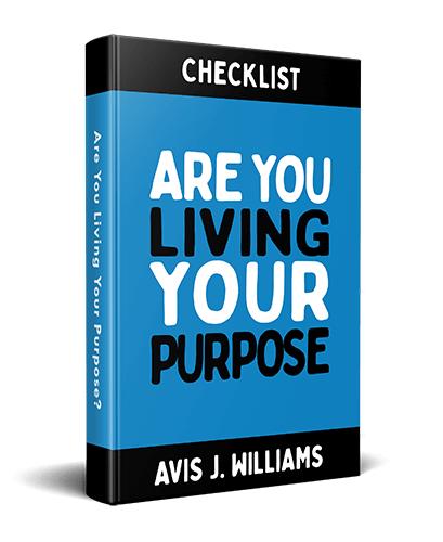 Live with purpose checklist